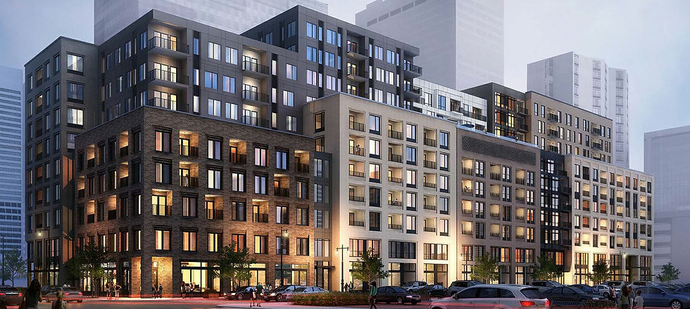 Multi - Family / Mixed Use : The Fitzgerald Apartments