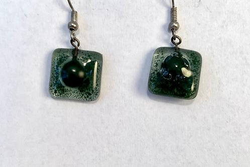 Otavalo Market Glass Earrings