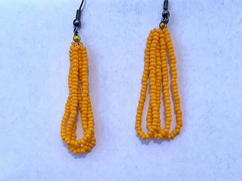 Otavalo Market Bead Earrings