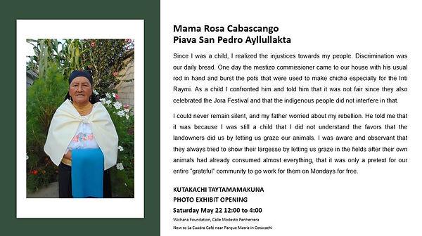 Rosa Cabascango Publicity.JPG