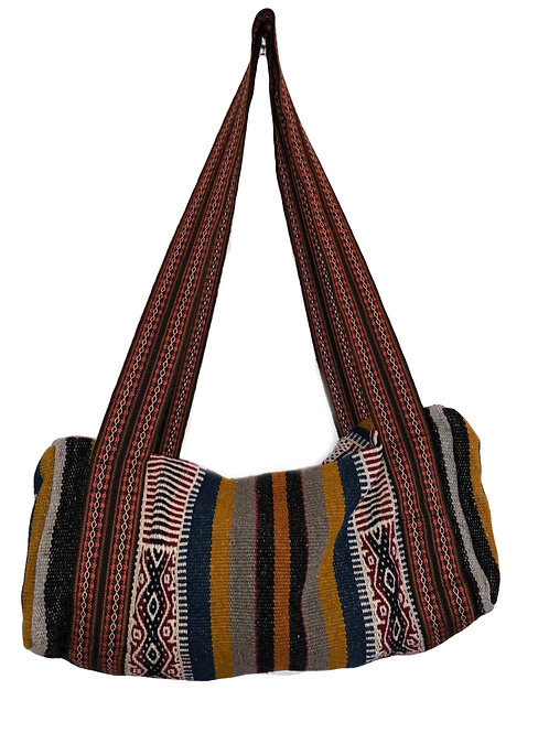 Traditional Woven Duffle Bag