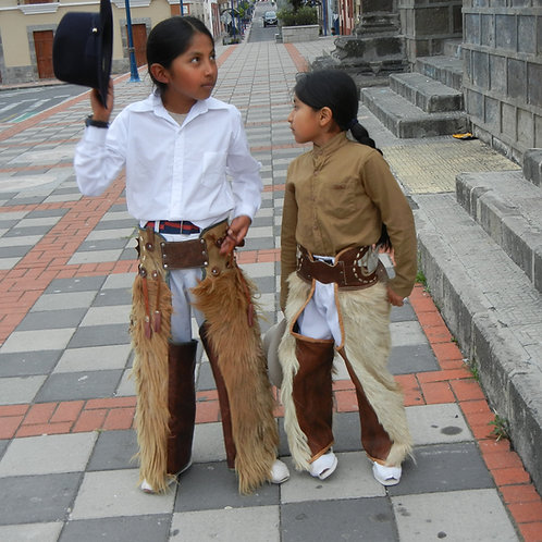 Child-sized Zamorros (Chaps)