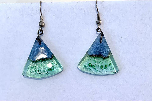 Otavalo Market Glass Earrings