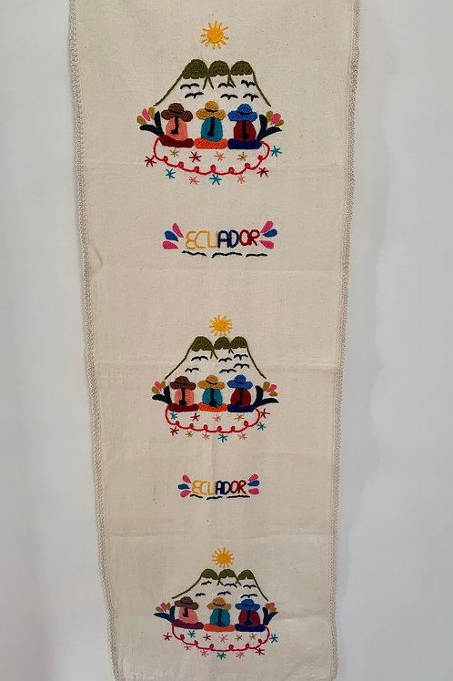 Embroidered Tablerunner