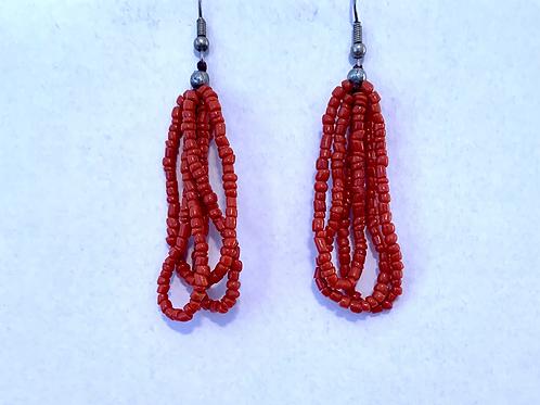 Otavalo Market Bead Earrings