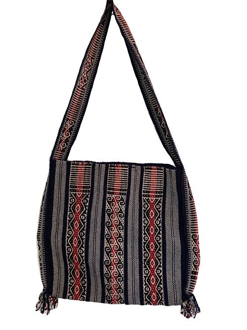 Traditional Woven Bag with Single Strap
