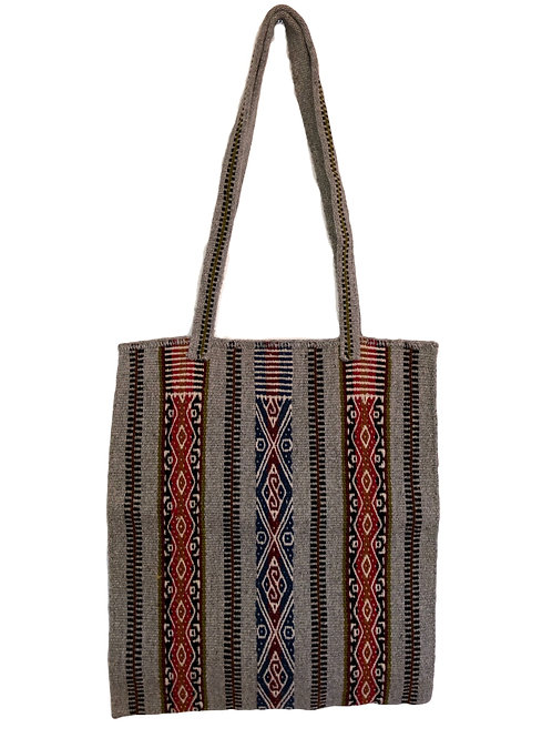 Traditional Woven Bag with Two Straps