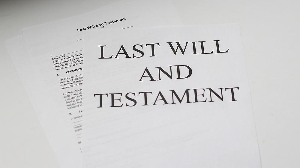 will, trust, estate planning document
