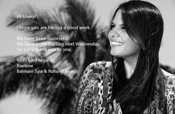 Balmain Spa & Natural Beauty Testimonial