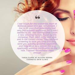 Allure Derma Cosmetic Skin Clinic Testimonial