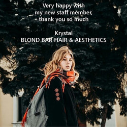 Blond Bar Hair & Aesthetics Testimonial