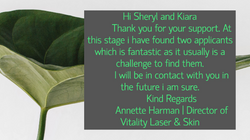 Vitality Laser & Skin Testimonial
