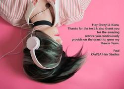 Kawsa Hair Studio Testimonial