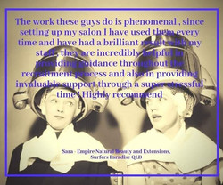 Empire Natural Beauty & Extensions Testimonial
