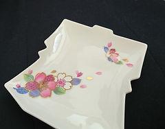 きもの皿 着物皿 着物銘々皿
