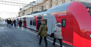 Voyage entre Moscou et Saint-Pétersbourg en train