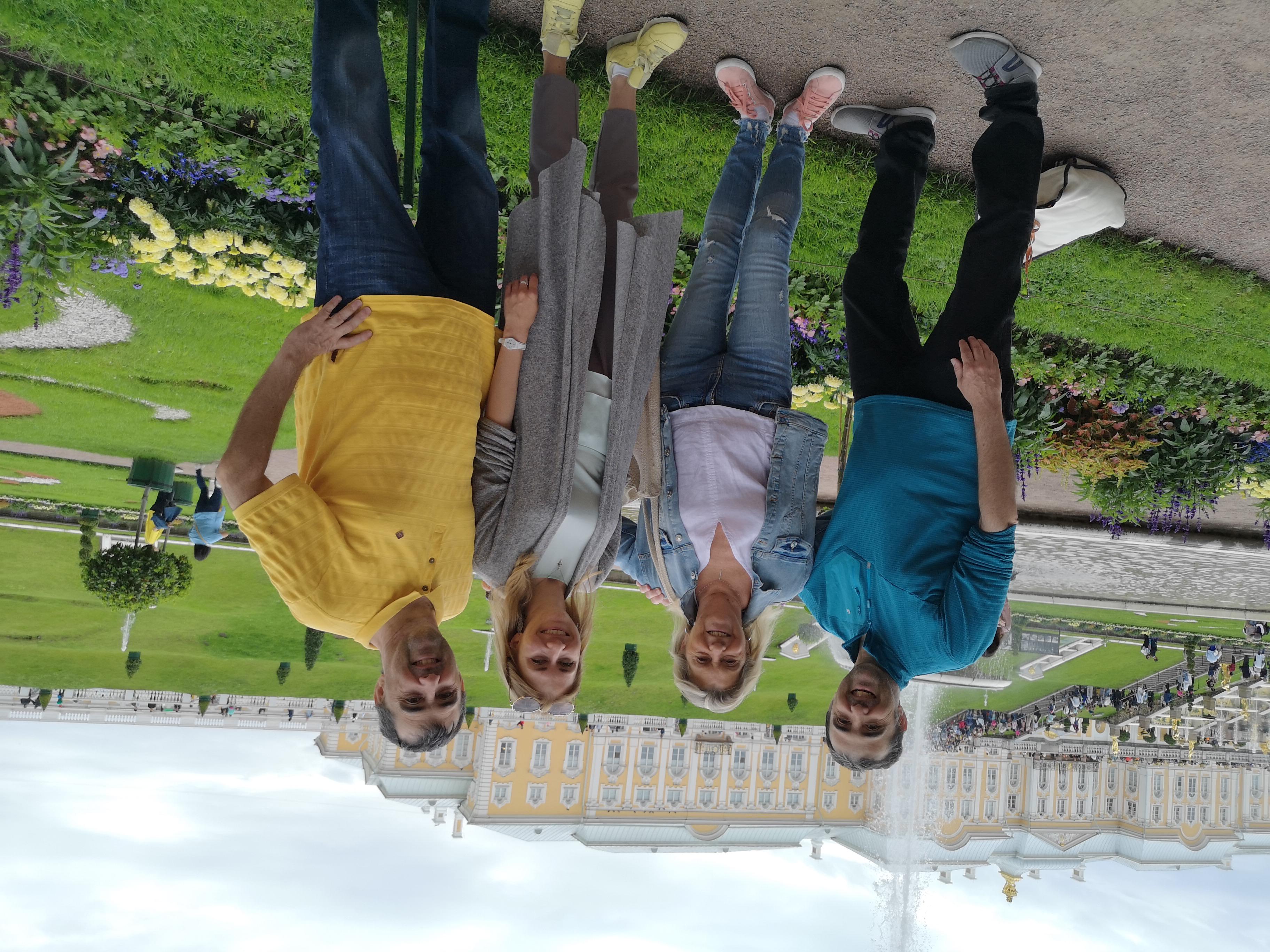 une balade a Peterhof