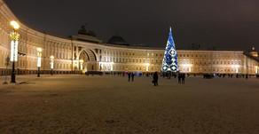 Le réveillon à Saint-Pétersbourg