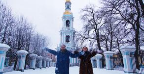 Saint-Pétersbourg en hiver. Les attractions et les fêtes de fin d'année 2019