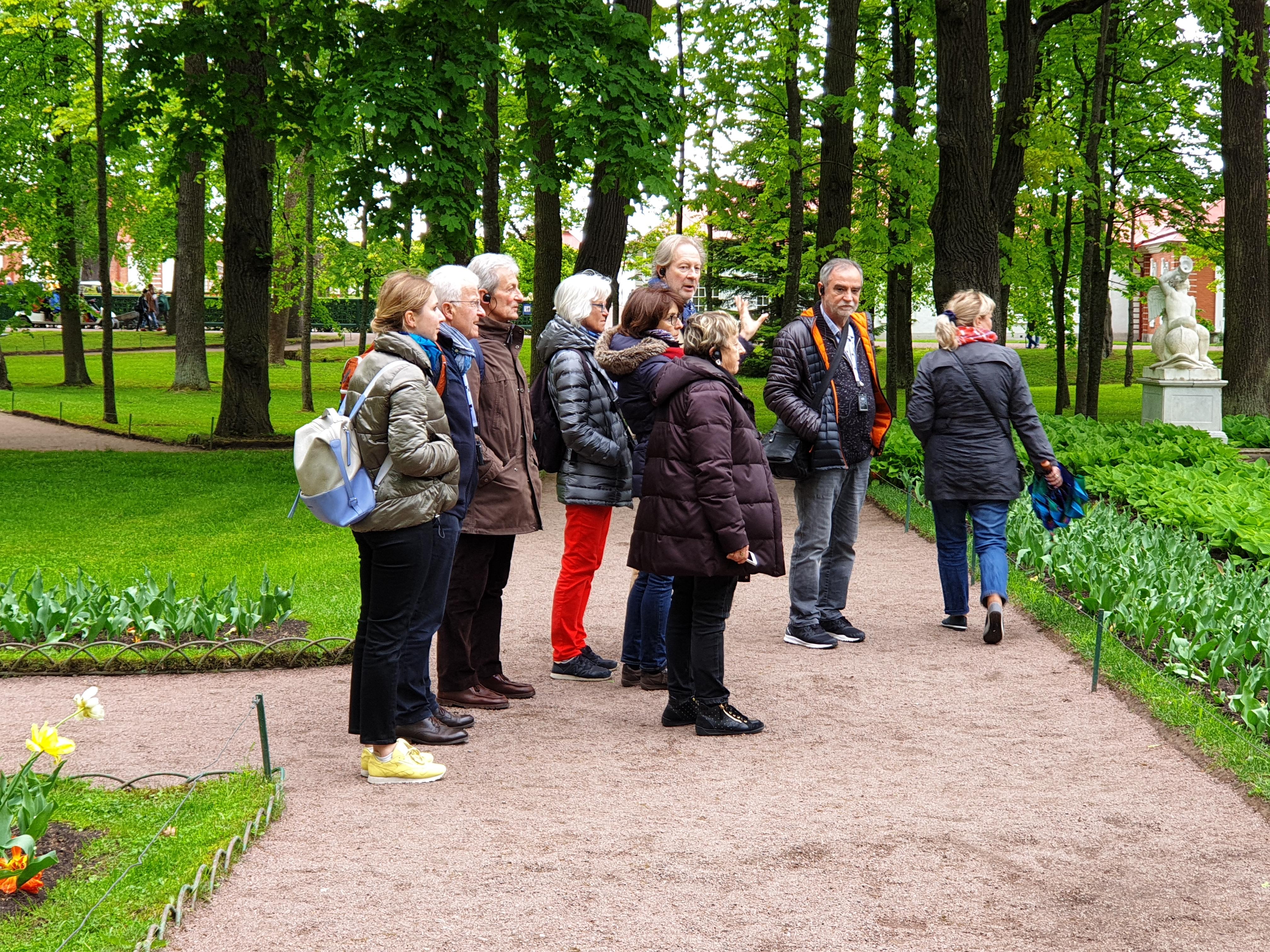 visite de Peterhof