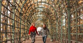 Les lieux romantiques de Saint-Pétersbourg