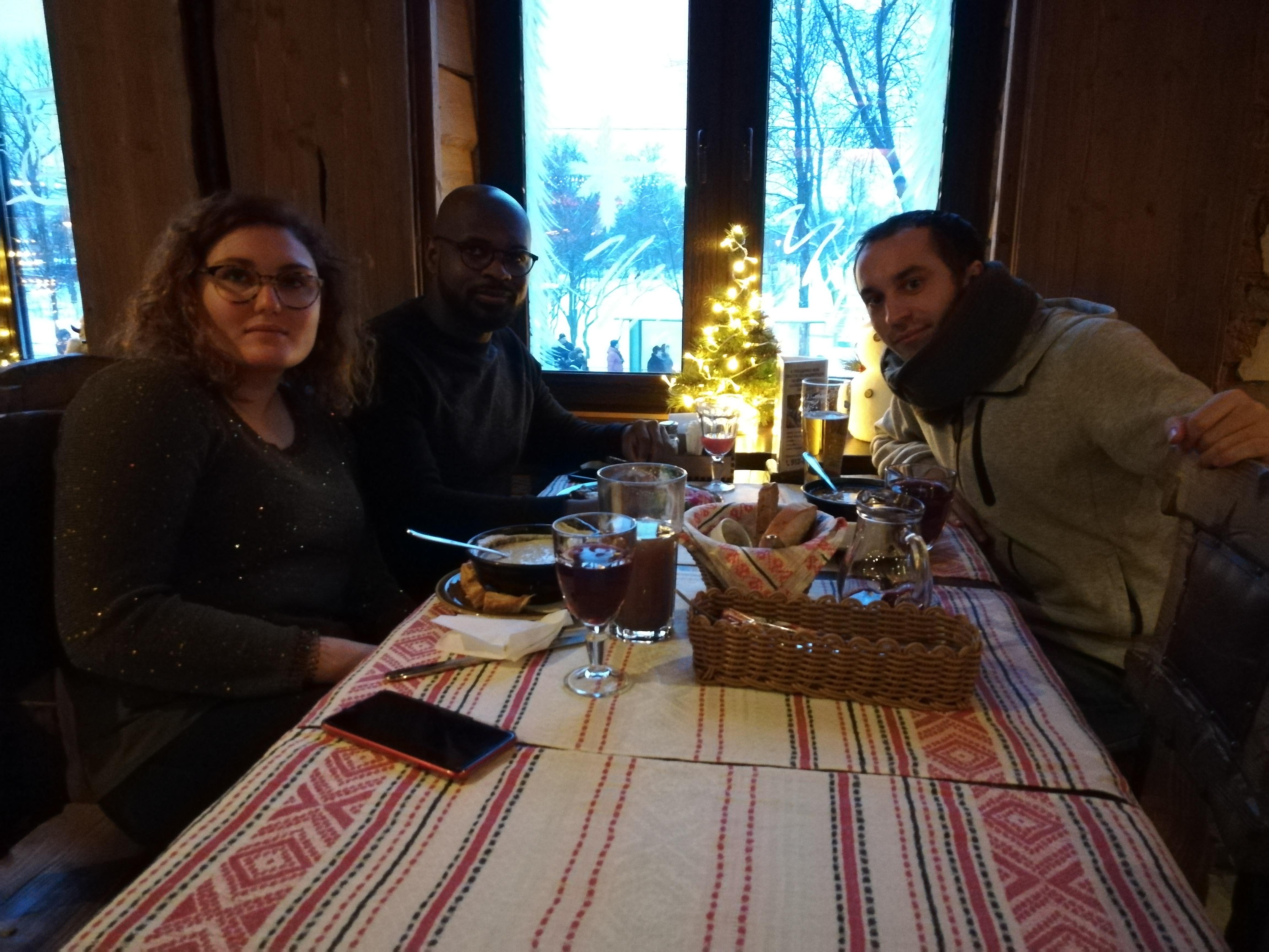 Le restaurant à Pouchkine