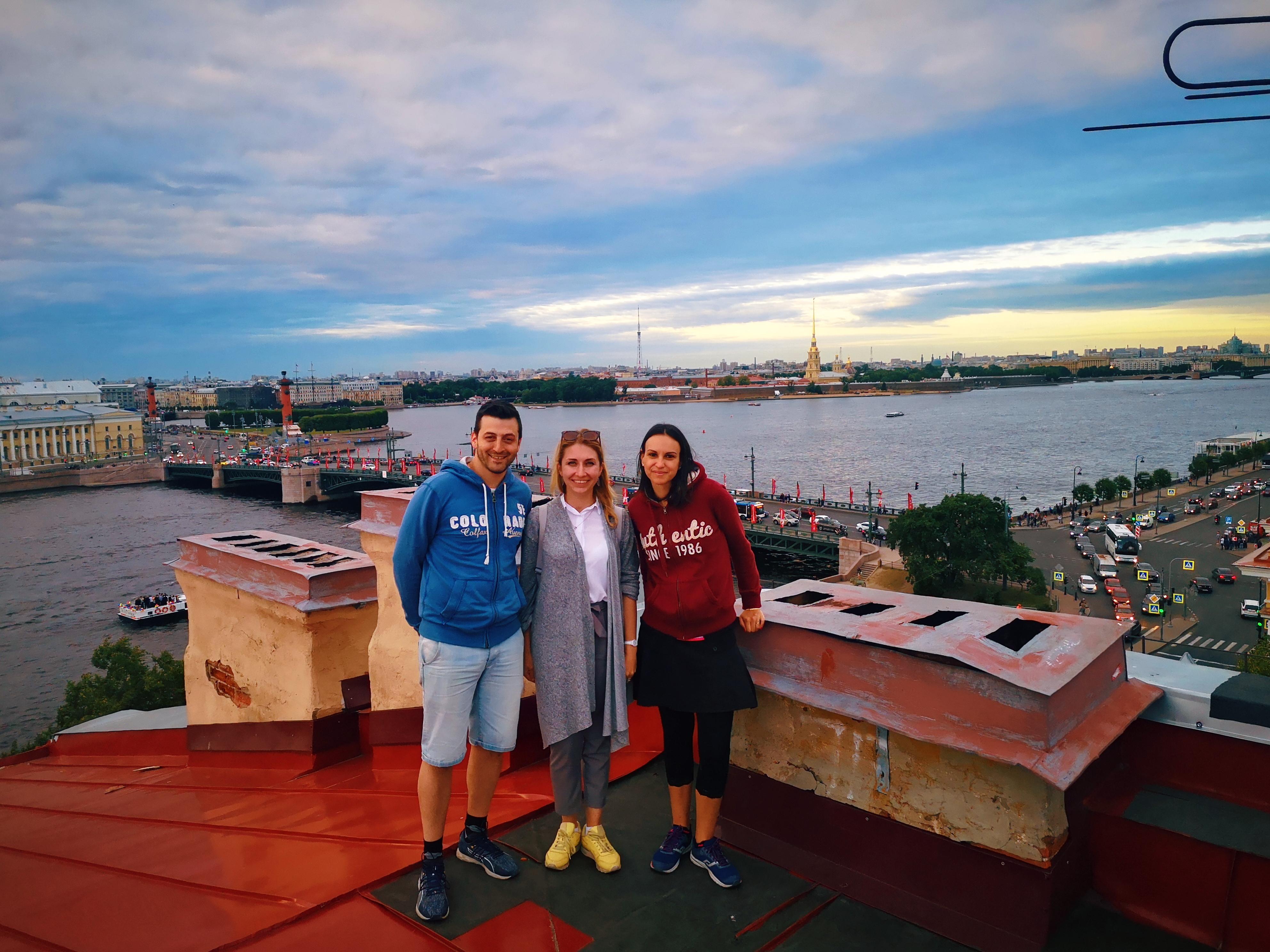 excursion sur les toits