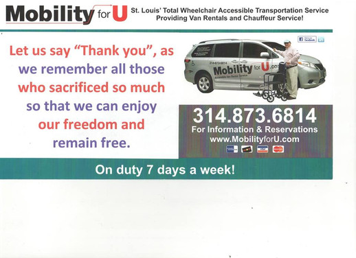 Mobility For U Facebook Ad