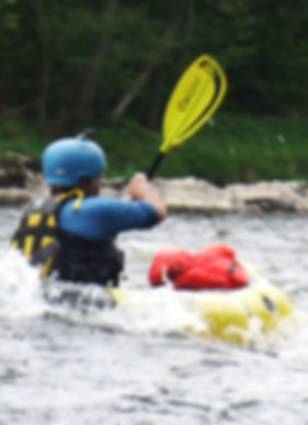 Moving water packrafting course