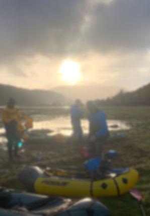 Packraft Exped Paddler Loch Sunart