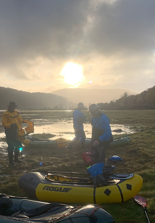 Packraft Exped Paddler Loch Sunart