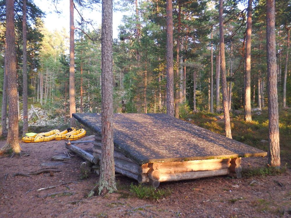 Glaskogen camp, Sweden