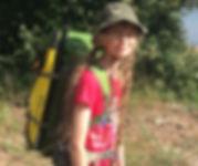 Lightweight Packraft Adventure walk paddle go! wildernesslily Tirio