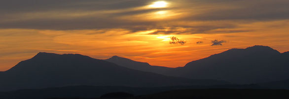 Snowdonia sunset Packraft Adventure walk paddle North Wales Tirio