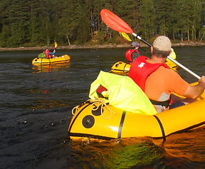 Packraft Adventure watersports walking Snowdonia Tirio