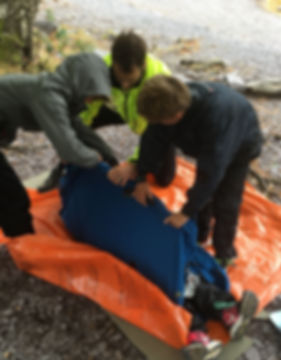 Packrafting First Aid Tirio
