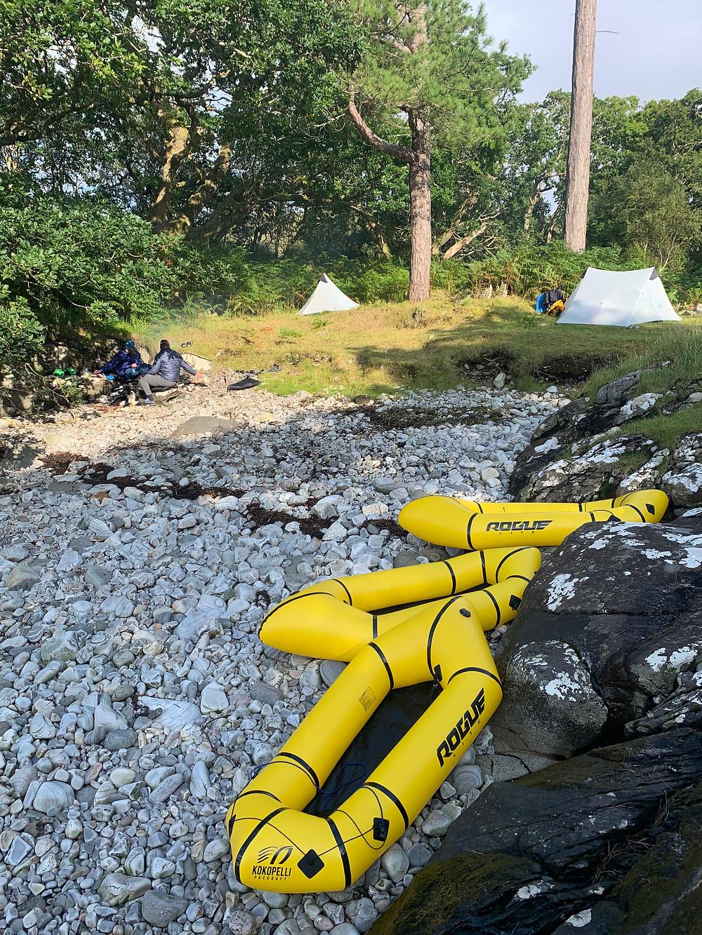 Evening Camp, Sound of Arisaig