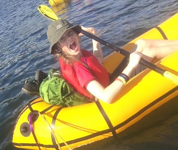 Packraft Adventure fun walk watersports Snowdonia Tirio