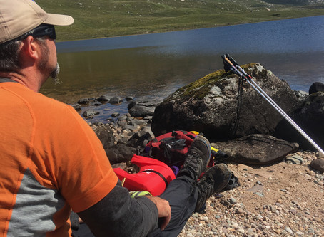 Fisherfield - a Packraft 'Classic' - Part 1