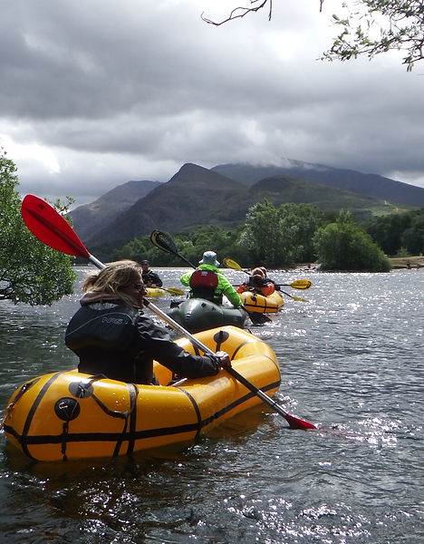 Packraft Paddler Course plan your own jo
