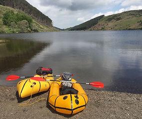 Packraft Adventure Snowdonia watersports walking walk paddle go Tirio