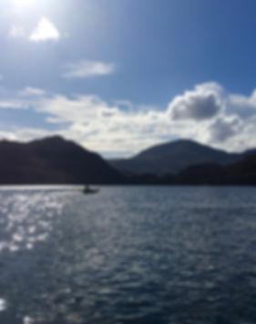 Packraft Adventure Snowdonia lake walk paddlesports Tirio