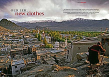 Geographical, Kashmir, Ladakh, Leh, India, Old Town, Conservation, THF, Tibet Heritage Fund,