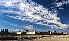 Telegraph, China, Silk Road, Jiayuguan, Gansu, Travel, Tourism,