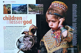 Geographical, Pakistan, Northwest Frontier, Chitral, Kailash, Kailash Valleys, Travel, Culture, Tribe,