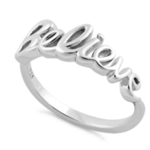 Deity Believe Ring 925