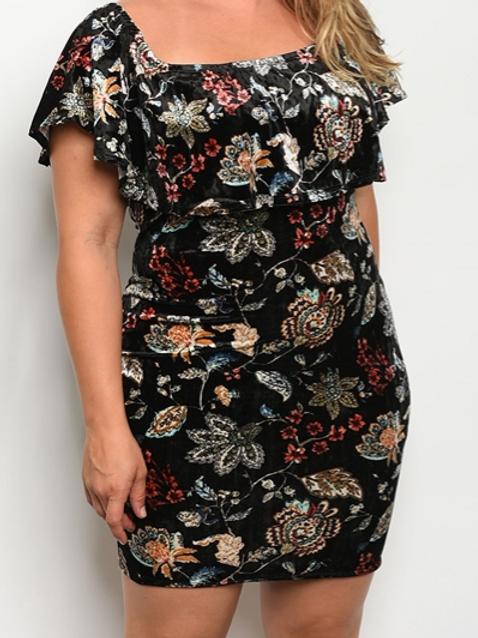 Deity Floral Party Dress