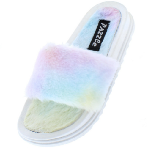 Deity Cotton Candy Slippers
