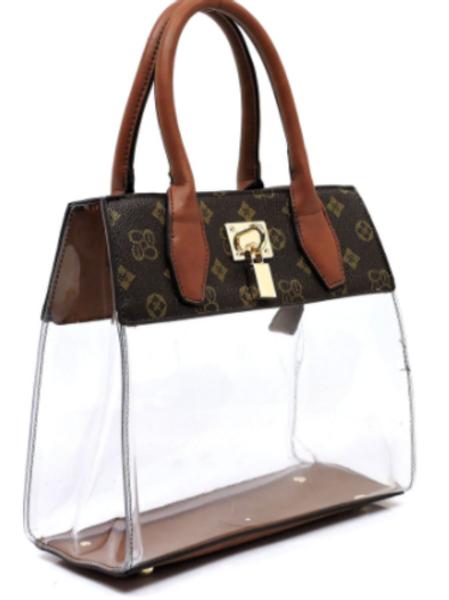 Deity Clear Satchel Bag