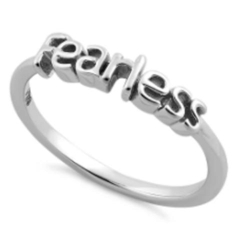 Deity 925 Fearless Ring